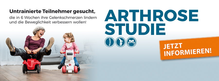 arthrose-studie-start